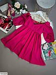 Жіноче коттоновое плаття з рукавом-ліхтариком, фото 2