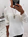 Жіночий костюм двійка: лосини + кофта, фото 4