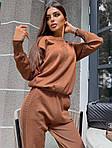 Жіночий костюм в'язка штани і кофта, фото 5