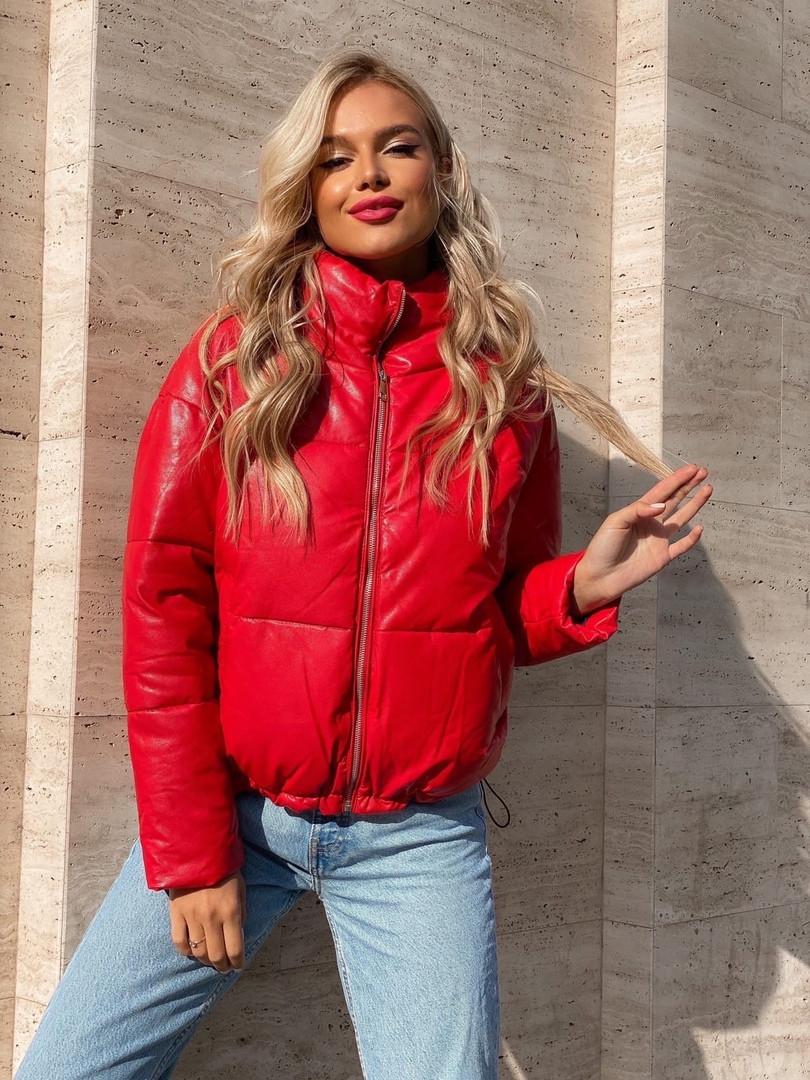 Женская куртка с холофайбером