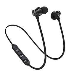 Беспроводные наушники для спорта блютуз 4.1 Heonyirry C310 c микрофоном, черные