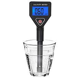 Солемер для воды (tds метр) профессиональный KKMOON Salinity-98305, измеритель солености воды