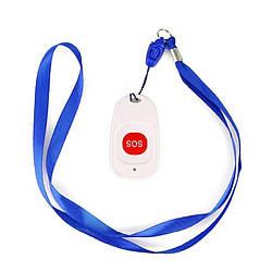 Бездротова кнопка SOS на шиї на шнурку Retekess TH001, на частоті 433 мГц