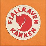 Рюкзак Kanken Fjallraven Classic 16л Помаранчевий канкен з райдужними ручками шкільний портфель Orange, фото 3