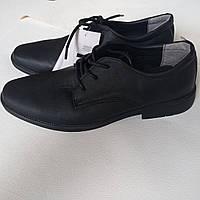 Подростковые классические черные  туфли 38 Cool Club на мальчика, фото 1