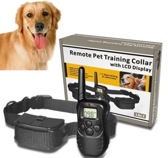 Електронний електро нашийник для тренування дресировки собак та цуценят ZEPMA DOG TRAINING (6111)
