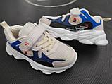 Кросівки для хлопчика 28 р устілка 17 см, фото 4