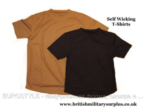 Военные футболки CoolMax армии Британии