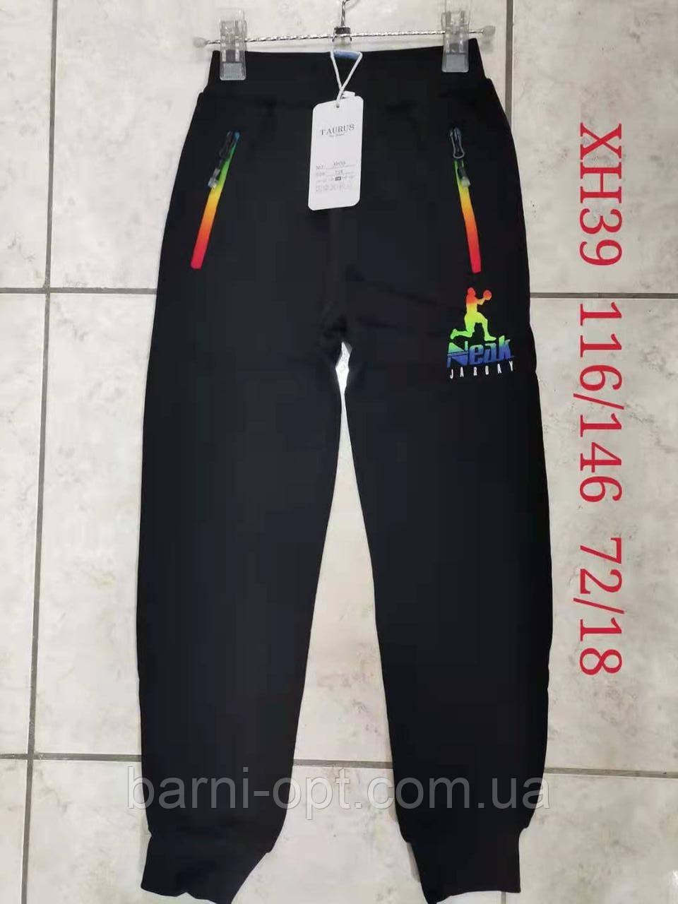 Утепленные спортивные брюки на мальчиков оптом, Taurus, 116-146 рр