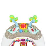 Музыкальные детские  ходунки с интерактивной панелью «Bambi» ME 1056 DOLPHIN BEIGE, цвет бежевый, фото 5