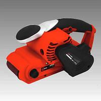 Электрическая ленточная шлифмашина, до 380 м/мин, 950 Вт, Storm (Intertool)