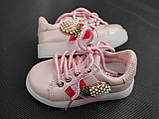 Кроссовки для девочки 24 р стелька 14.5 см, фото 7