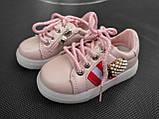 Кроссовки для девочки 25 р стелька 15 см, фото 8