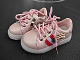 Кросівки для дівчинки 26 р стелька 15.5 см, фото 3