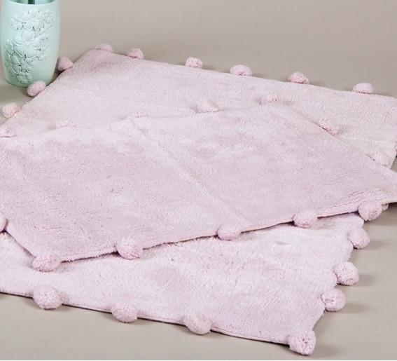 Набір килимків Irya - Alya pembe рожевий 60*90+40*60