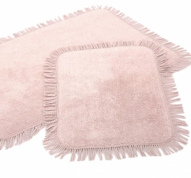 Набір килимків Irya - Axis pembe рожевий 60*90+40*60
