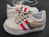 Кроссовки для девочки 26 р стелька 15.5 см, фото 4