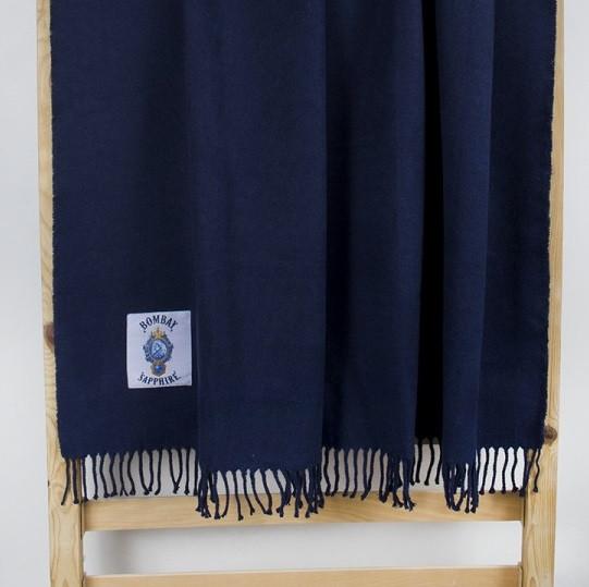 Плед Bombay - Sapphire синий 145*160