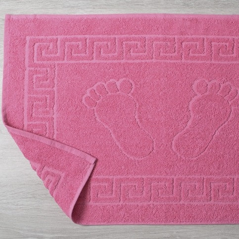 Полотенце для ног Lotus Отель - Розовый (550 г/м²) 50*70