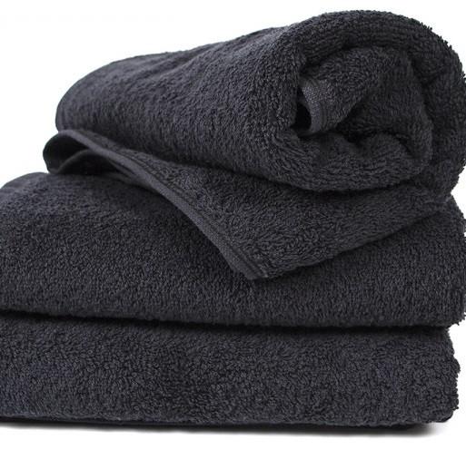 Полотенце Lotus Black - Черный 30*50 (16/1) 400 г/м²