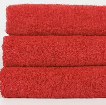 Полотенце Lotus Отель - Красный v1 70*140