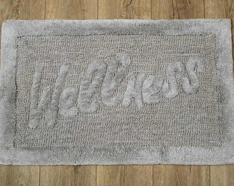 Килимок Irya - Welness grey сірий 50*80