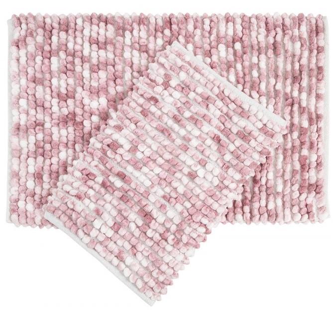 Набір килимків Irya - Ottova pink рожевий 60*90+40*60