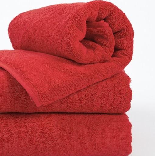 Полотенце Lotus Отель - Красный 50*90 (20/2) 550 г/м²