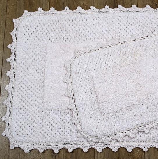 Набір килимків Irya - Carmela pembe рожевий 60*90+40*60