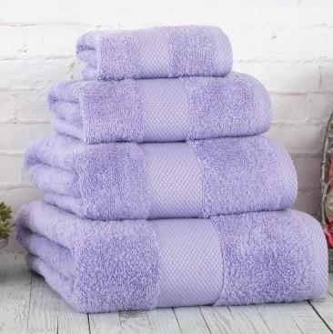 Полотенце Irya - Damla coresoft lila лиловый 50*90