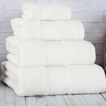 Полотенце Irya - Damla coresoft beyaz белый 50*90