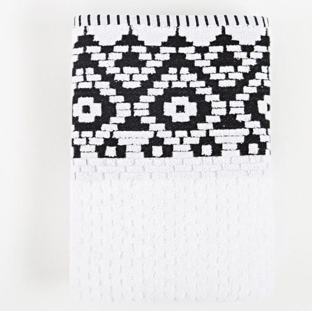 Полотенце Irya Jakarli - New Wall beyaz белый 50*90
