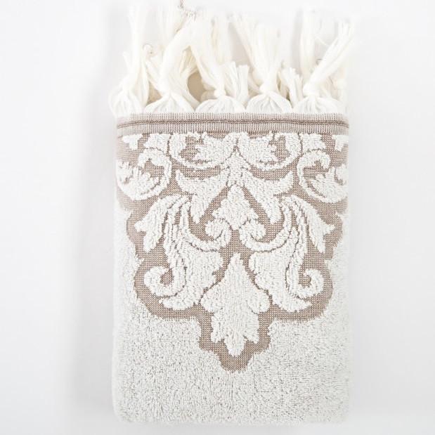 Полотенце Irya Jakarli - Vintage ekru молочный 50*90