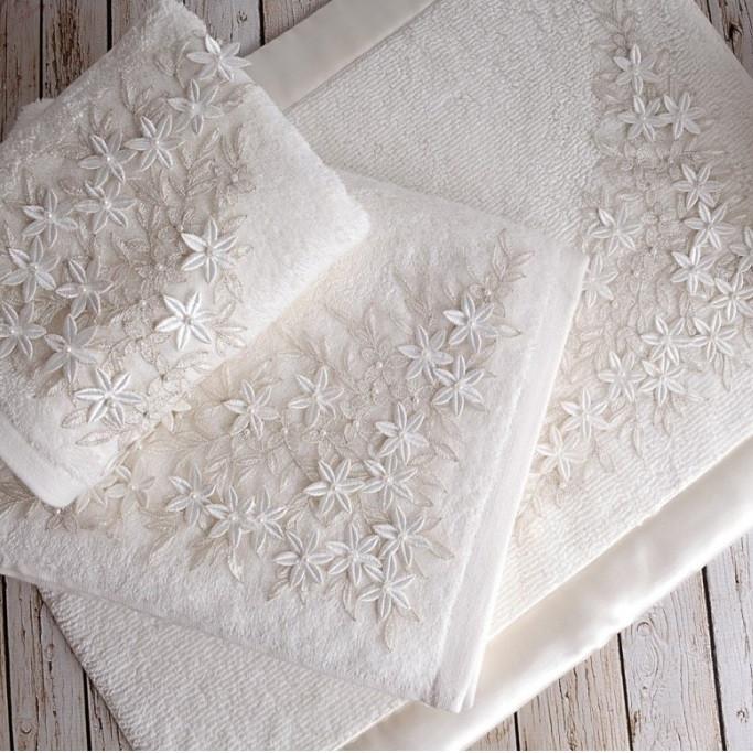 Рушник Irya Wedding - Lavita молочний 50*90