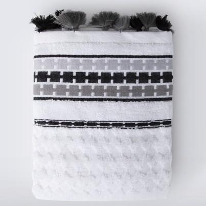 Полотенце Irya Jakarli - Coplin gri серый 90*150