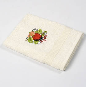 Рушник кухонне Lotus Sun - Apple крем 40*70