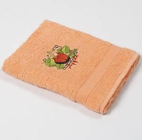 Рушник кухонне Lotus Sun - Apple помаранчевий 40*70