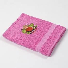 Рушник кухонне Lotus Sun - рожевий Apple 40*70