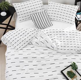 Постільна білизна Lotus Home Perfect - Lace білий сімейний