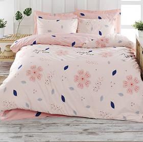 Постільна білизна Lotus Home Perfect - Flowers рожевий сімейний