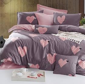 Постільна білизна Lotus Home Perfect - Hearts сімейний