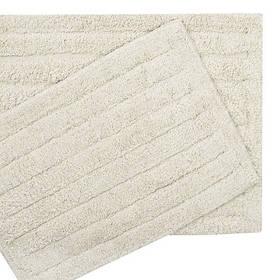 Набор ковриков Shalla - Dax ekru молочный 40*60+50*80