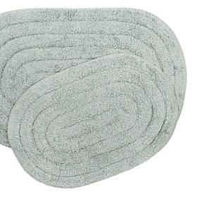 Набор ковриков Shalla - Edna gri серый 40*60+50*80