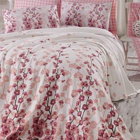Постільна білизна Eponj Home Pike - Coretta a.pembe світло-рожевий полуторна
