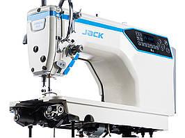 Jack A4E-Q Прямострочная машина автомат  для легких и средних материалов.