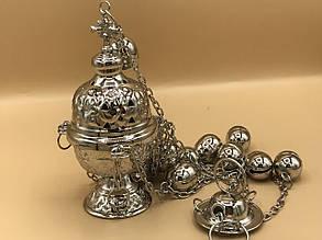 Кадило в серебряном цвете