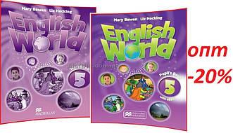 Англійська мова / English World / student's+Workbook. Підручник+Зошит (комплект), 5 / Macmillan