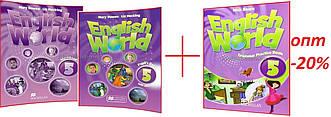 English World 5 / Повний комплект оригінал / Підручник+Зошит+Граматика. Pupil's+Work+Grammar Practice Book