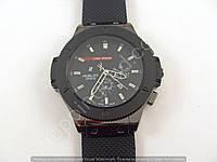 Мужские часы Hublot Geneve Big Bang King Luna Rossa B119 черные с календарем