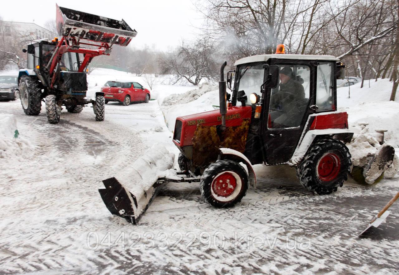 Аренда Снегоуборочной Техники в Киеве
